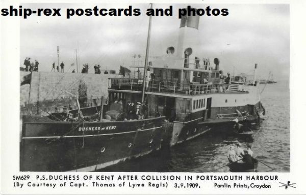 DUCHESS OF KENT (LSWR/LBSCR) postcard